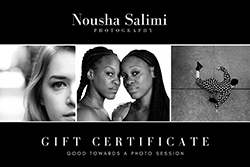 Photography Gift Voucher $100